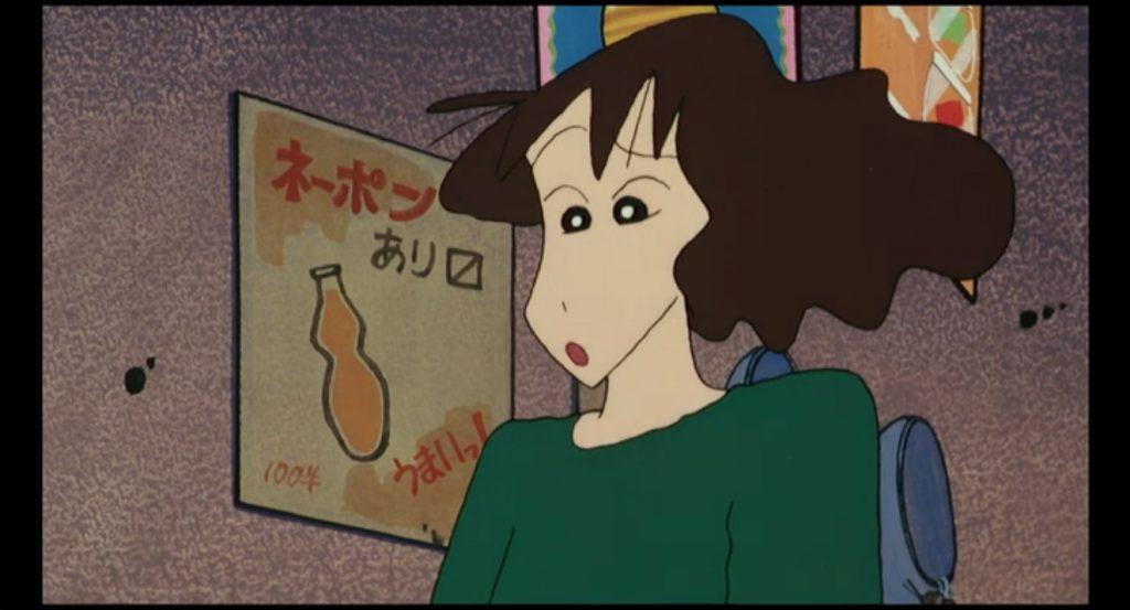 映画クレヨンしんちゃん『アクション仮面vsハイグレ魔王』の1シーン